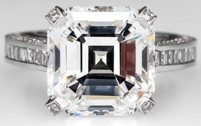 Do Asscher Cut Diamonds Sparkle?